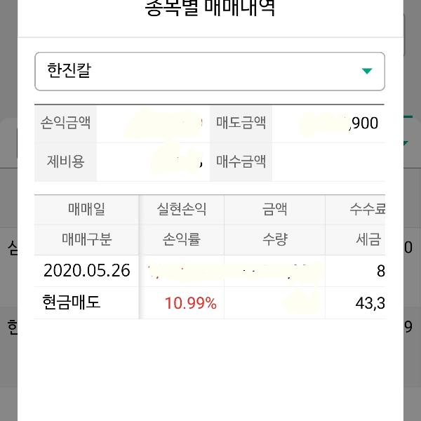 한진칼 10.99%